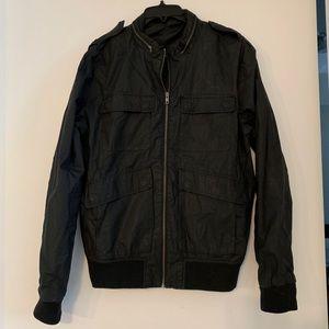 Men's H&M Lightweight Black Bomber Jacket